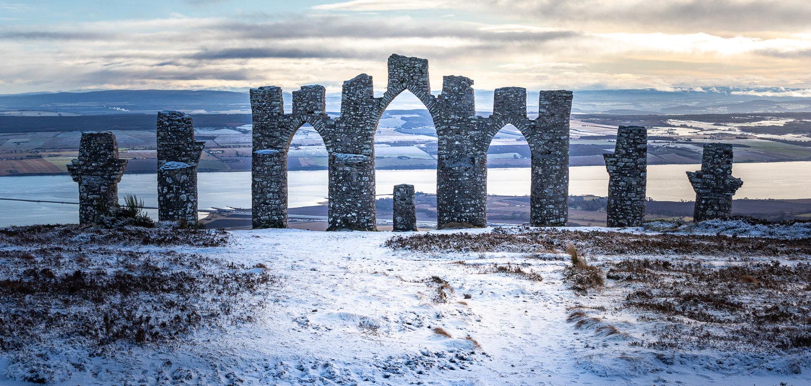 The Fyrish Monument, Highlands, Schottland
